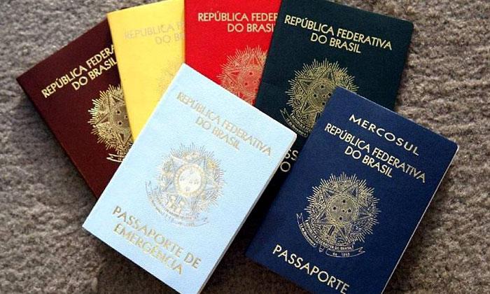 fazendo intercambio passaporte