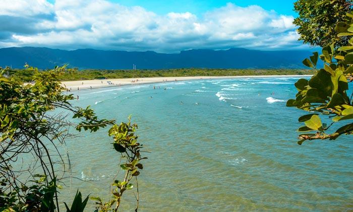 fazendo intercambio destino sao paulo praia itaguare