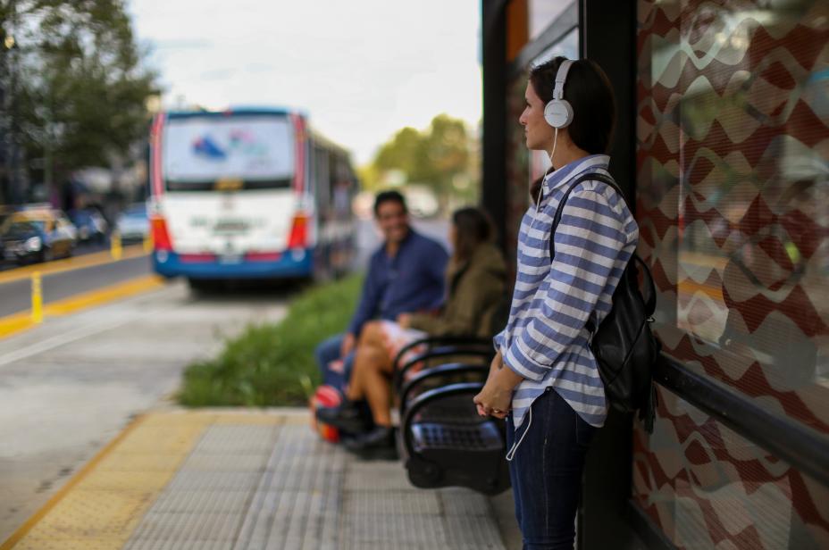 Onibus - transporte em Buenos Aires - Argentina